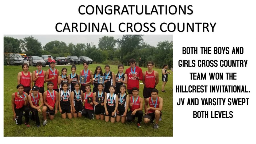 Cross Country teams win Hillcrest Invite