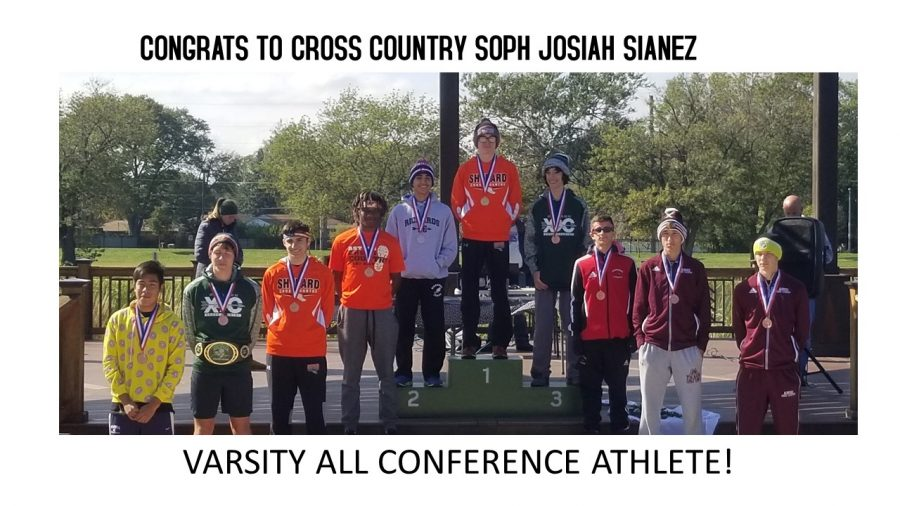 Varsity All Conference Cross Country Runner 10/13/18
