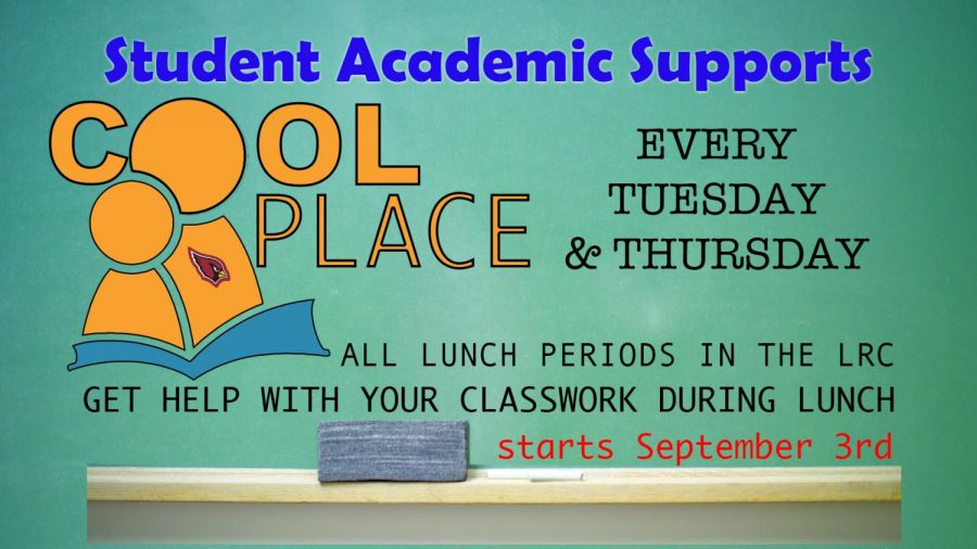 Cool Place: Get help with your classes during your lunch period